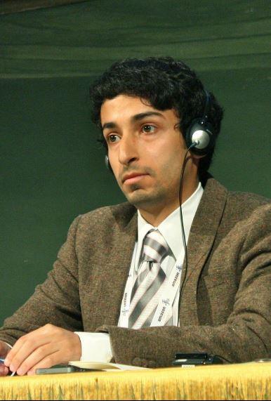 Sakhr Al Makhadhi (photo : Farah Wael)