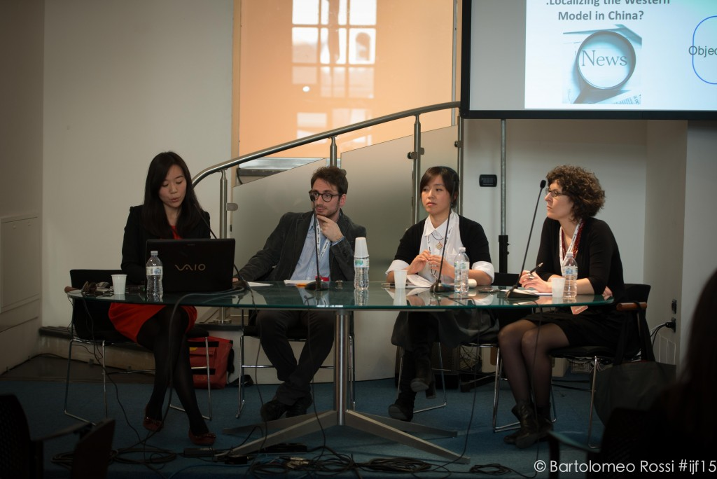 From left: Ye Jin, Gianluigi Negro, Zhan Zhang and Emma Lupano to discuss the journalistic role in today's China.