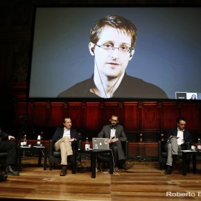 """Edward Snowden: """"Journalism is one of the most effective leverages we still have"""""""