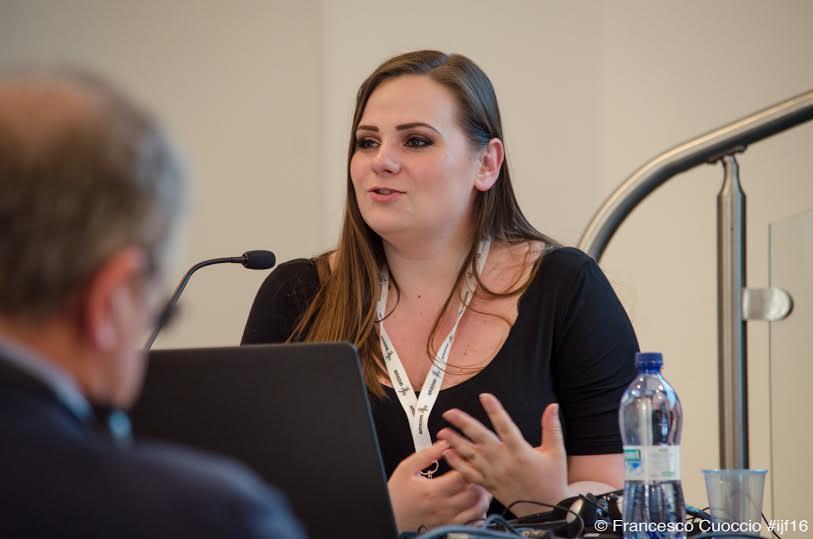 Miranda Patrucic, OCCRP. Foto di Francesco Cuoccio
